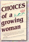 Choices of a Growing Woman cover